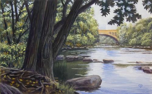 Brandywine River at Josephine Gardens