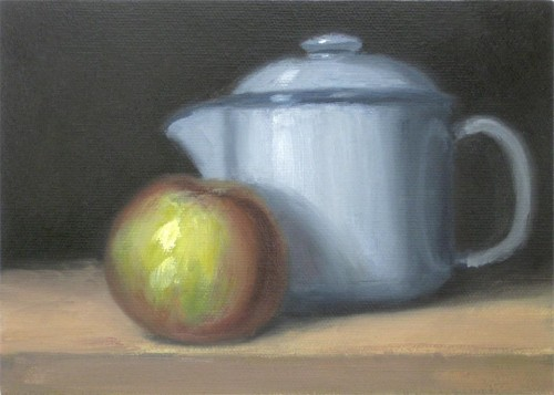 Teapot and Apple